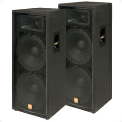 Image of JBL speakers